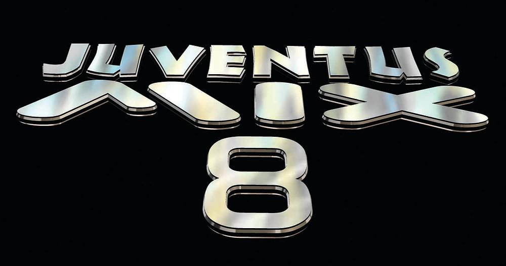 Juventus Mix 8 logo 3D percpective