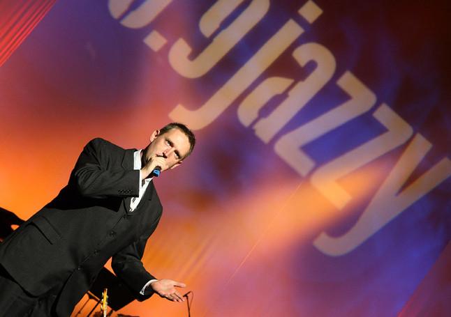 A Jazzy Dalverseny műsorvezetője 2011, MÜPA.