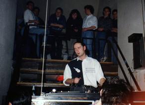 Új Vár Klub, a 90-es évek eleje...