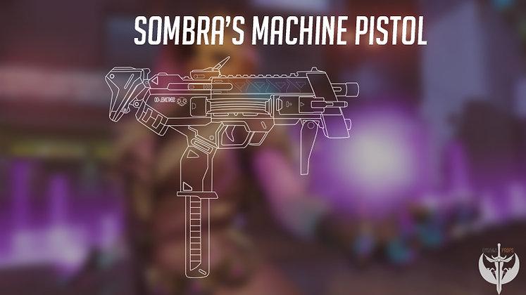 Sombra´s Machine Pistol digital Blueprint
