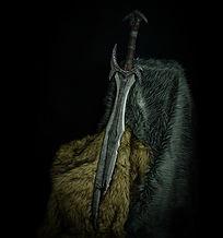 Skyrim Daedric sword replica