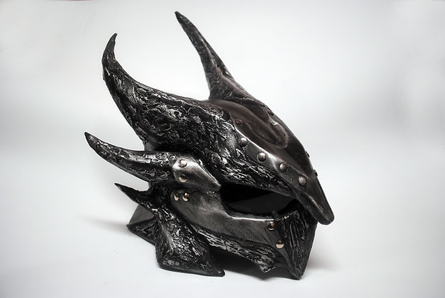 Skyrim: Daedric Dragon Helmet Inspired Prop