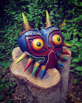 RAW Unfinished Majoras Mask