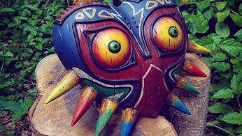 Zelda Majoras mask replica