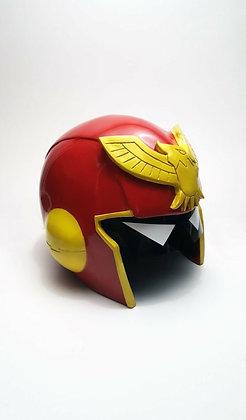 Raw Captain Falcon Helmet