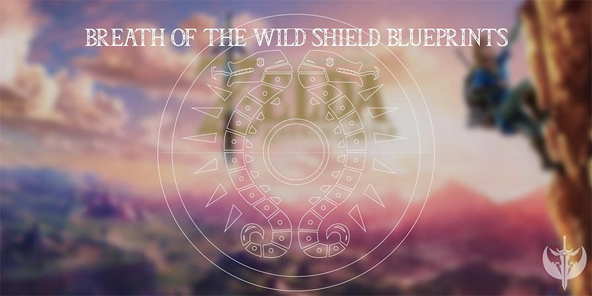 Breath of the Wind- Link Shield Blueprint