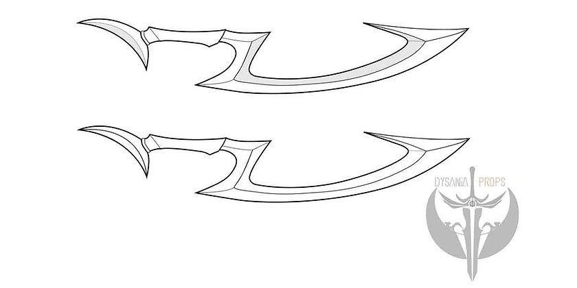 Dianas Blade digital Blueprint