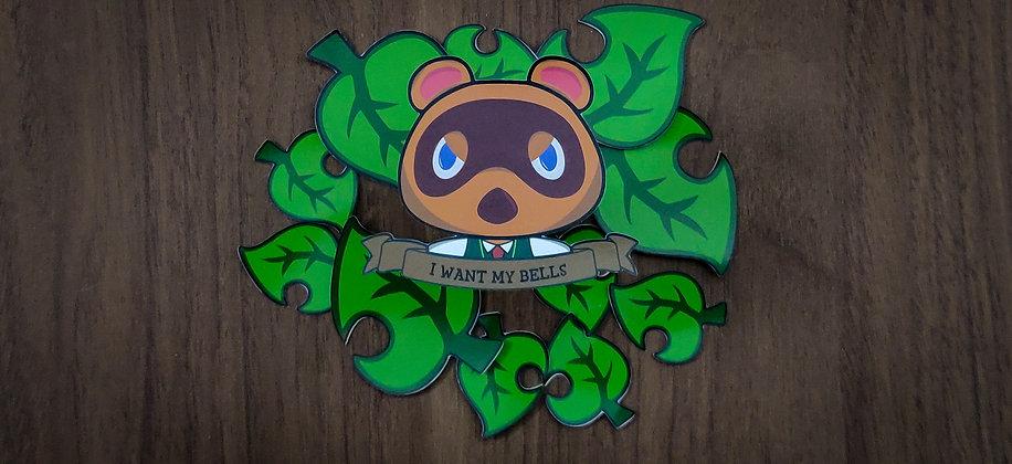 Animal Crossing Tom Nook Sticker