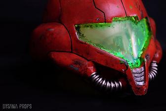 Metroid Samus helmet replica