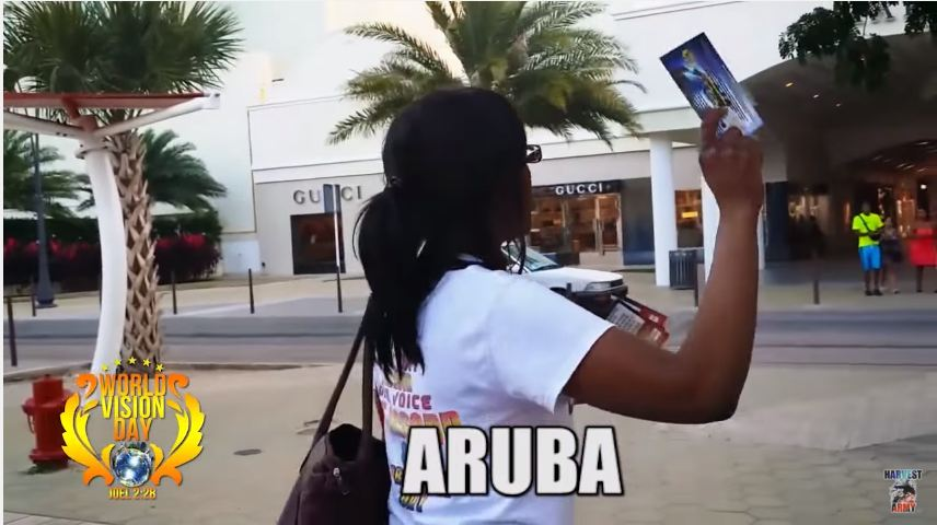 ARUBA WORLD WIDE VISION DAY