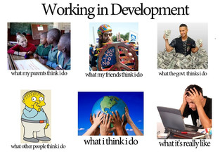 Story of a development worker