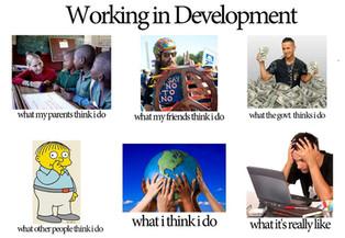 Story of a development worker