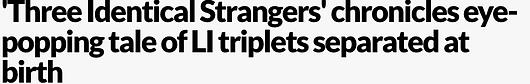 Image of Newsday Headline