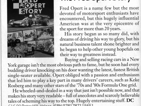 Book Review from Classic & Sports Car magazine (UK)