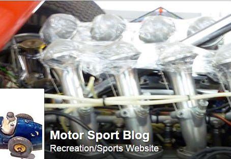 My motor sport blog