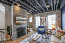 Center Street Towns Living Room
