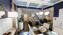 Killarney view of Kitchen & Great Room from Dining Room