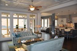 Family Room, Kitchen & Harth Room