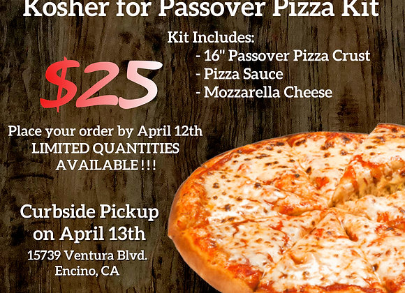 Passover Pizza Kit