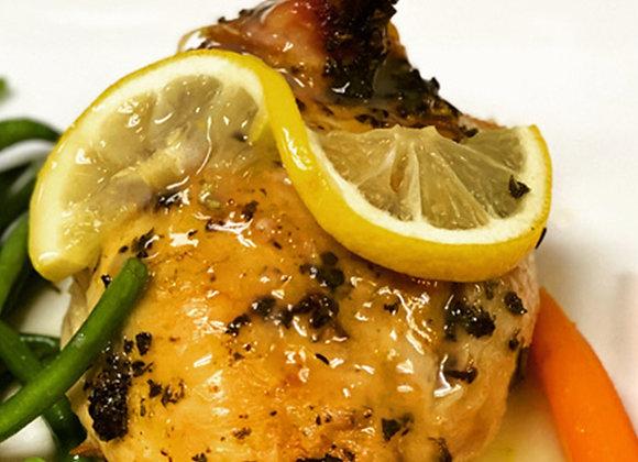 Lemon Rosemary Pulke Chicken Dinner