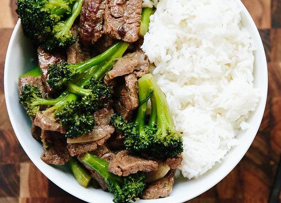 Beef & Broccoli Dinner