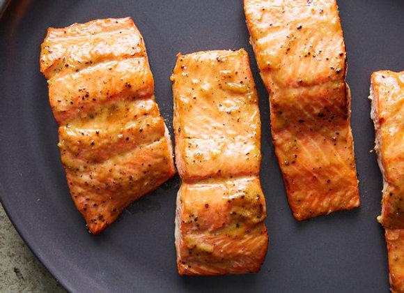 Honey Dijon Salmon Dinner
