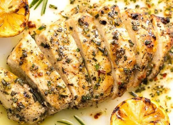 Lemon Rosemary Chicken Cutlet