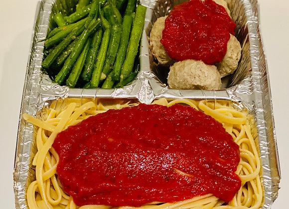 Pasta & Meatball Dinner
