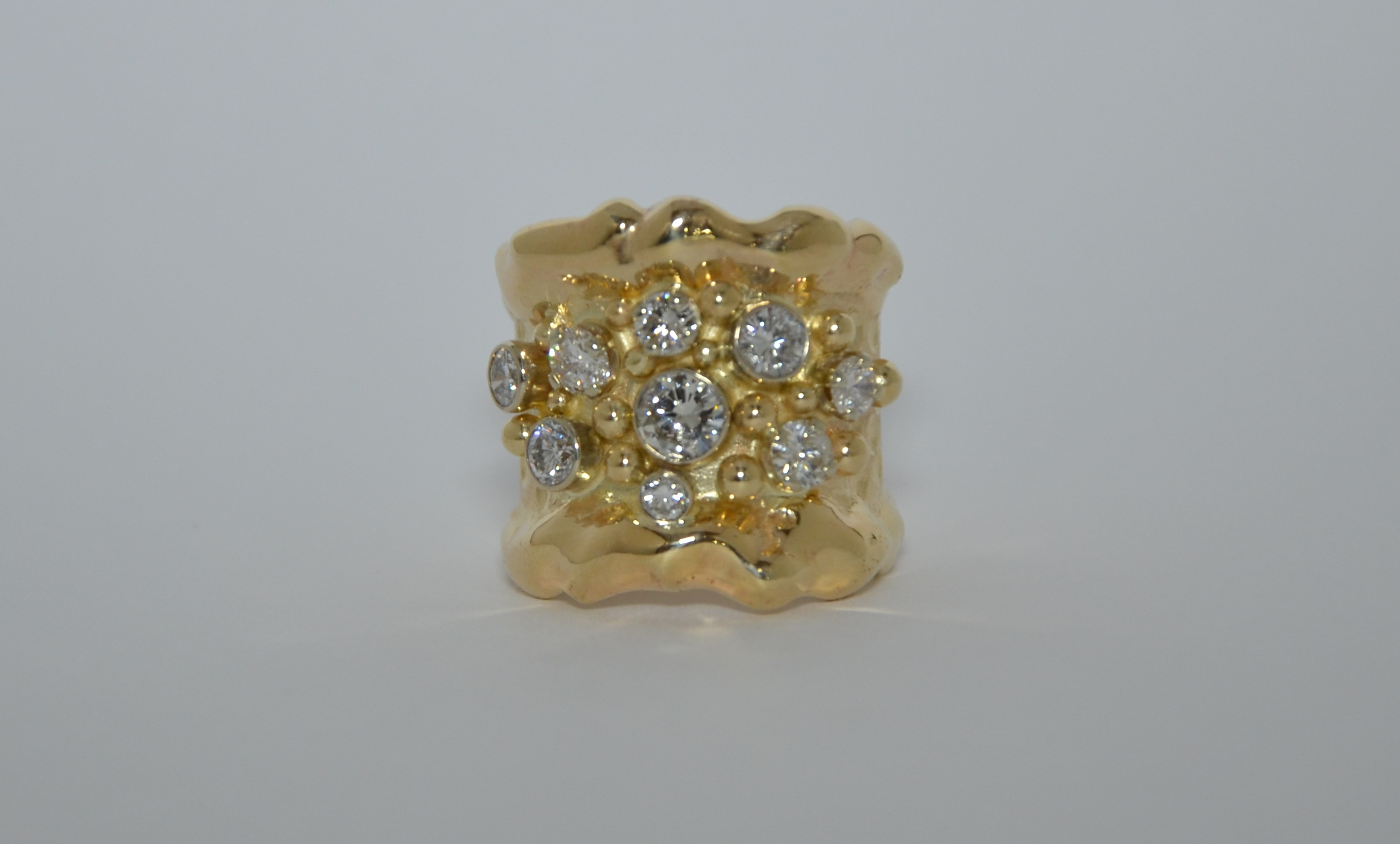 Custom 14k Diamond ring