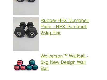New gym equipment from wolverson fitness arriving next week at Spartan Studios 💪🏽