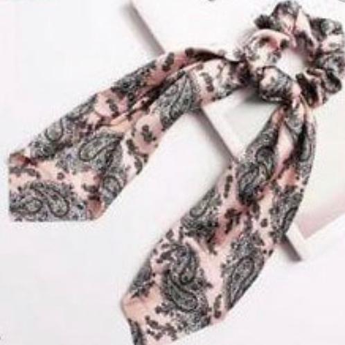 #1 Silk Scrunchie with tie
