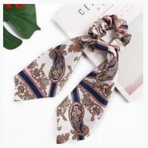 #3 Silk Scrunchie with Tie