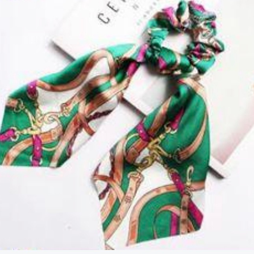 #7 Silk Scarf with Tie