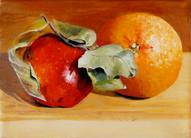 Apple and Orange No.1