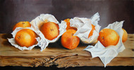 SOLD   Wrapped Oranges No.4