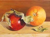 SOLD   Apple and Orange No.2