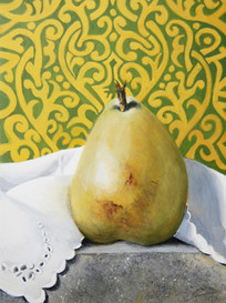 Pear on Granite No. 2