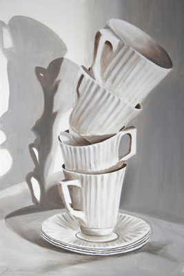 Stacked Teacups