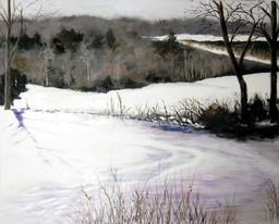 SOLD   Winter Pond