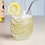 Thumbnail: Gold Swirl Stemless Wine, Gin or Beer Glass