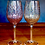 Thumbnail: Glitter Gold and Silver Wine Glass