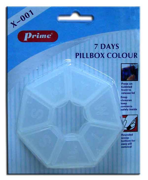 PILL BOX 7-DAYS - PRIME