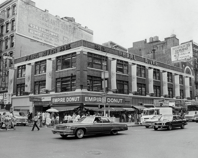 Pearl River Mart at  277 Canal Street, July 1986