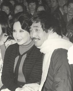 Li Li-Hua & Yuen Wah at the Fist of Fury premier (Pagoda Theater), November 7, 1972