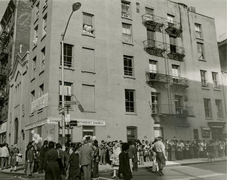 Chinese Methodist Church / 紐約華埠衛理會, 69 Madison Street, 1978