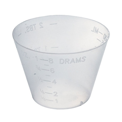 MEDICINE CUP PLASTIC - LORD