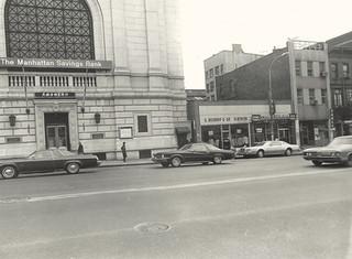 Manhattan Savings Bank building, 50 Bowery, 1980