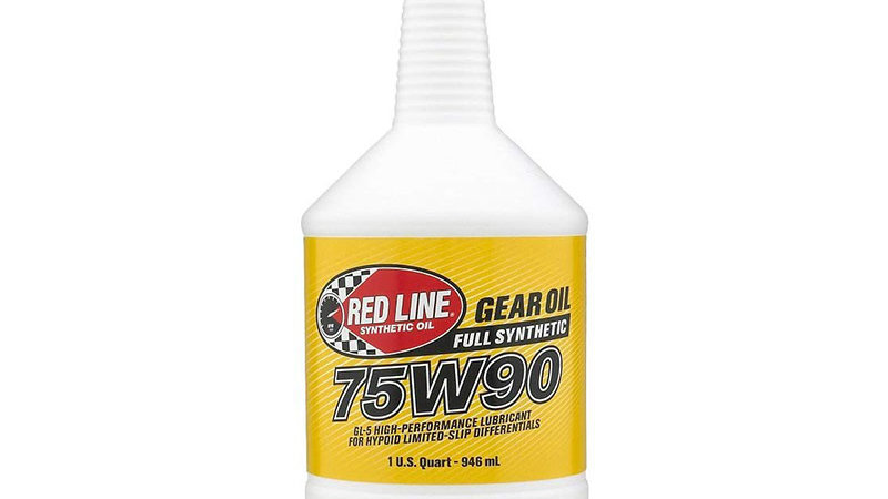 Red Line 75W90 Synthetic Gear Oil - 1 US Quart