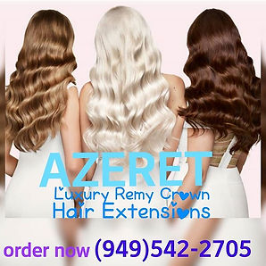 AZERET Hair Extensions are LIFE! _Or so