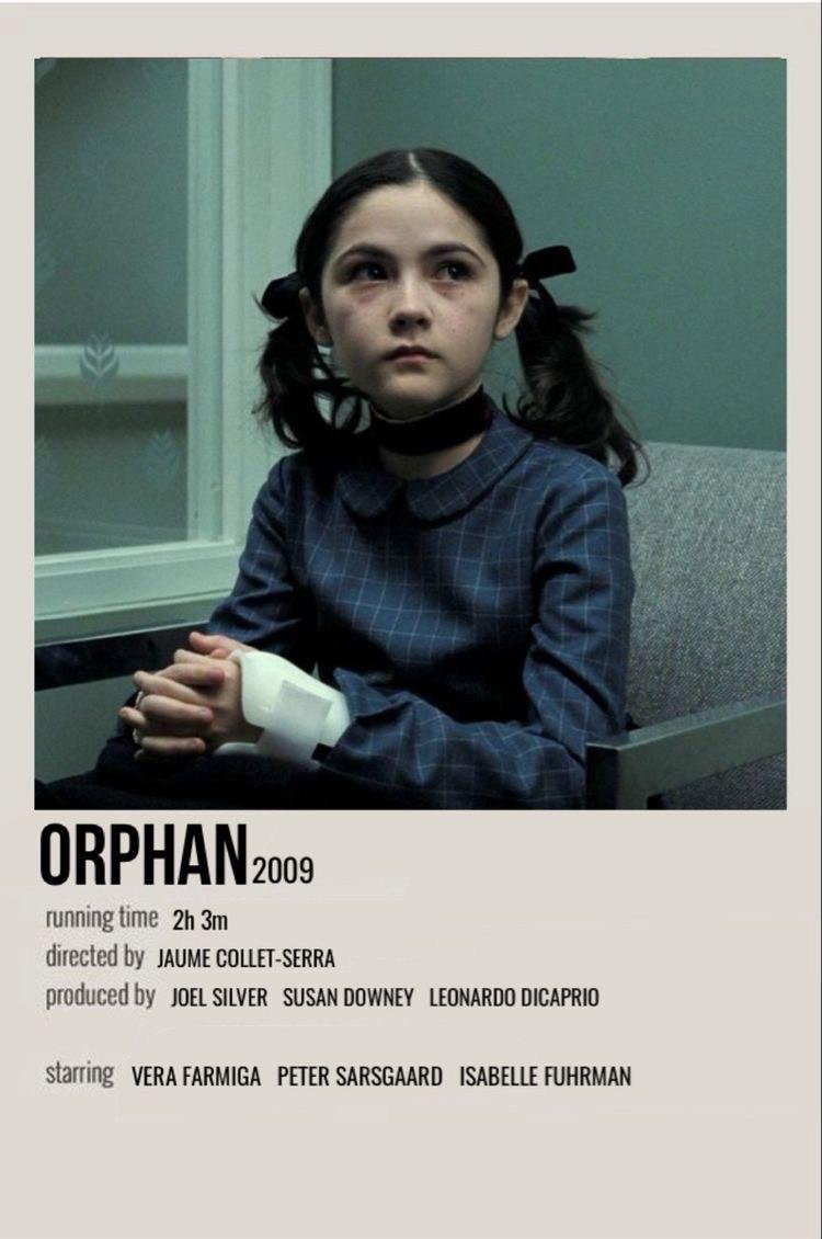 Orphan movie polaroid